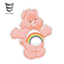 2020 Wholesale Car Stickers Care Bears Cheer Decal Funny Car Styling Vinyl Graphic For Car Window Trunk Wall Decor 13cm X 10 7cm From Wzl001 18 10 Dhgate Com