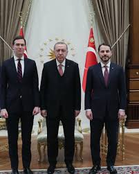 Trump and Erdogan's sons-in-law take place of diplomats