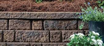 landscape patio stone retaining walls