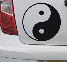 Yin And Yang 1 Vinyl Decal Graphic Sticker For Car Bike Boat And Home Vinyl Decals Car Stickers Yin Yang