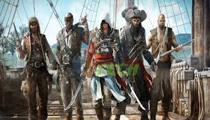 ASSASSIN'S CREED IV: BLACK FLAG [ 500.MB x 11 PARTS ] ONLY!