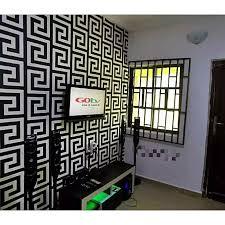 generic 3d wallpaper fendi white