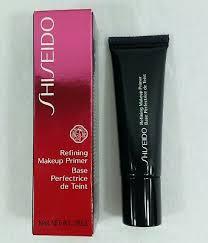 box shiseido refining makeup primer