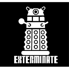 Doctor Who Dalek Exterminate Vinyl Decal Sticker For Car Laptop Wall Buy Products Online With Ubuy Nigeria In Affordable Prices B07m5mg65j