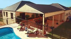 gable patio backyard roof patios steel