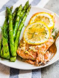 grilled salmon in foil easy and