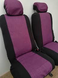 van vw standard front seat covers vw