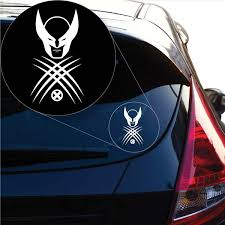 Graphics Wolverine X Men Decal Sticker For Car Window Laptop And More 1014 6 X 3 3 White Wish