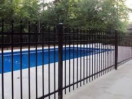 Pool Fence Tuscaloosa Al American Fence Company