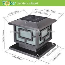 Led Solar Gate Light Jr 3018 China Hot Selling Outdoor Led Solar Gate Light Solar Led Fence Light Manufacturer Supplier Fob Price Is Usd 1 0 60 0 Piece
