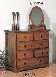 fir wood antique dressing table cabinet