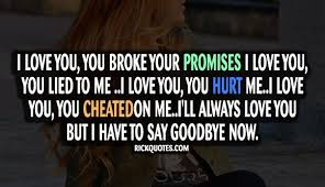 promises quotes say goodbye now promise quotes ex quotes sayings