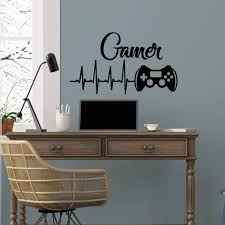 Gamer Wall Decal Game Controllers Gaming Vinyl Sticker Decals Video Boys Room Decor Bedroom Playstation Nursery Art Wall Decals Wall Decals And Murals From Onlinegame 11 04 Dhgate Com