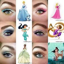 disney princess inspired eye make up