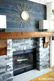 brick fireplace remodel cost red mantel