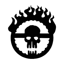 Mad Max Fury Road Skull Vinyl Sticker