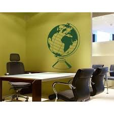Shop World Globe Wall Decal Vinyl Art Home Decor Overstock 11545568