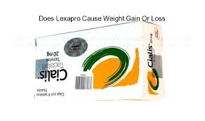 weight loss lexapro and weight gain