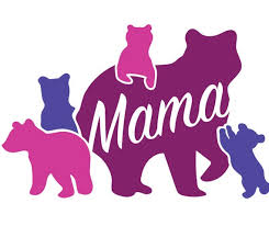 Mama Bear With Four 4 Cubs Svg File For Vinyl Cutting Etsy