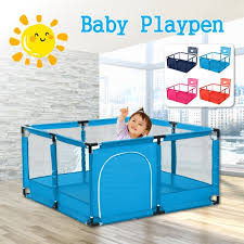 Baby Kids Playpen Playinghouse Indoor Outdoor Safety Play Yard Baby Fence Play Pen With Round Zipper Door For Children Pool Balls Balls Not Included Walmart Com Walmart Com