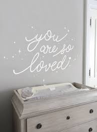 You Are So Loved Quote Wall Decal With Diamonds Dots And Heart Simple Shapes Kids Room Wall Decals Nursery Wall Decals Girls Wall Decals