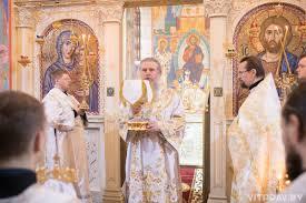 В праздник Благовещения Пресвятой Богородицы архиепископ Димитрий возглавил  Литургию в одноименном храме города Витебска – Витебская епархия