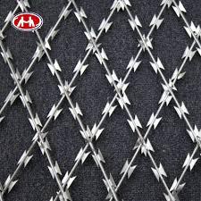 Pricelist For Razor Barbed Wire Airport Fence Welded Razor Wire Meihua Hardware China Hebei Meihua Hardware Mesh