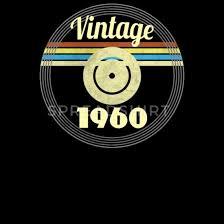 60th birthday gift idea vinyl 1960