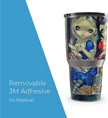 Amazon Com Alice Snow White Protector Skin Sticker Compatible With Yeti Rambler 30oz Tumbler Ultra Thin Protective Vinyl Decal Wrap Cover