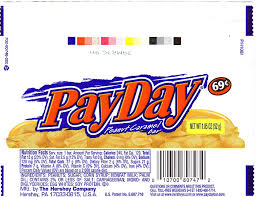2008 payday candy wrapper archive