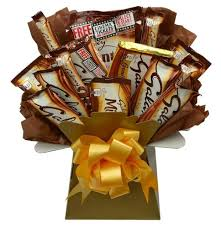bounty chocolate bouquet sweet her