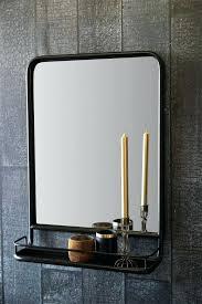 shelf mirror with shelf bathroom vanity