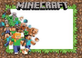 Image Title Convites Minecraft Convite De Aniversario Minecraft