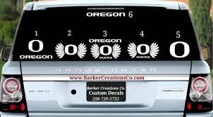 Oregon Decal Die Cut Exterior Interior Vinyl Decal Sticker Etsy
