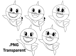 Baby Shark Outline Use The Printable Outline For Crafts Creating
