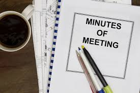 Board Meeting Minutes - Part II - Nonprofit Law Blog