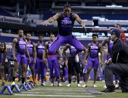 Byron Jones' NFL Stock Soared After 2015 Combine Theatrics ...