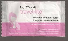travel lite makeup remover wipe fg180
