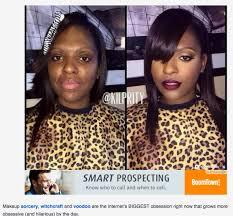 why are black women makeup shamed so