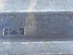 L. Duane Hayes (1937-2011) - Find A Grave Memorial