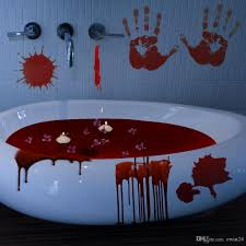 2020 Halloween Horrible Full Of Bloody Handprint Footprint Horror Window Clings Decals Vampire Zombie Party Handprint Decals Decorations From Ewin24 2 07 Dhgate Com