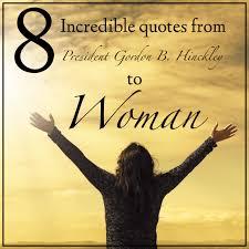 quotes from president gordon b hinckley to w spiritual