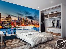 Custom Photo Wallpaper The Philadelphia Skyline At Night Murals For The Sitting Room Bedroom Tv Setting Wall Papel De Pared Wallpaper For Room Decoration Wallpaper 2wallpaper Glass Aliexpress