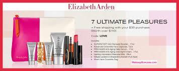 elizabeth arden 7 piece free bonus gift