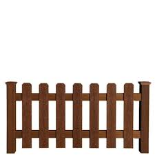 Midwest Manufacturing 3 X 6 Picket Fence At Menards Picket Fence Panels Wooden Fence Picket Fence
