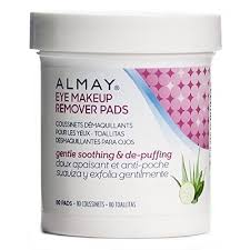 oil free gentle eye makeup remover pads