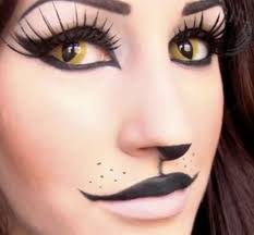 simple cat face makeup makeup