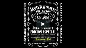 Invitacion Cumpleanos 50 Javier Romero On Vimeo