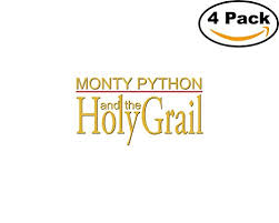 Monty Python And The Holy Grail 4 Stickers 4x4 Inches Car Bumper Window Sticker Decal Buy Online In China Missing Category Value Products In China See Prices Reviews And