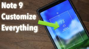 galaxy note 9 25 tips to customize